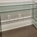 Custom Glass Console Table