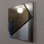 Bronze on Clear Accent Mirror