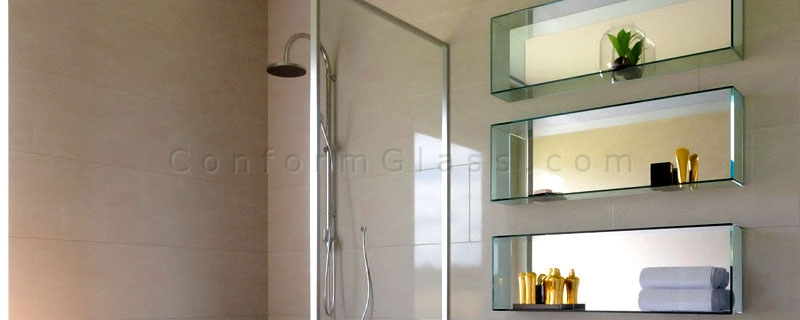 Wall Mounted Custom Glass Boxes