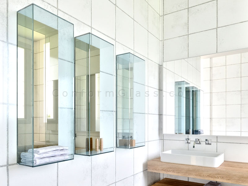 Vertical Glass boxes