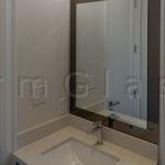 Clear on Bronze Vanity Mirror